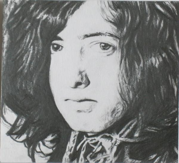 Jimmy Page by Alim